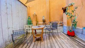 Chambre double standard avec patio